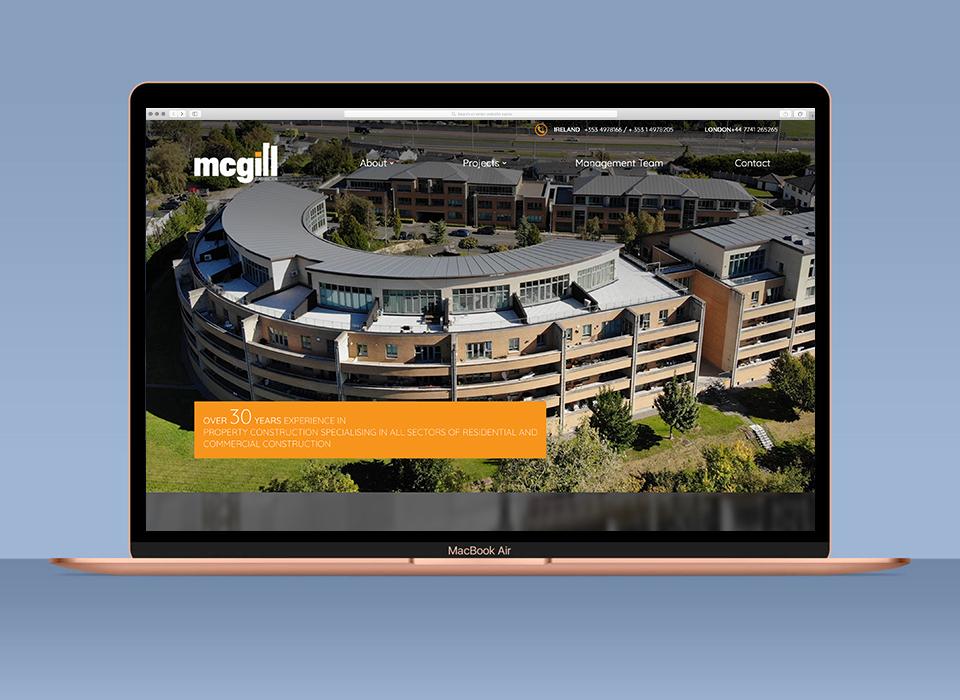 mcgill construction