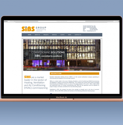 SIBS Group Website