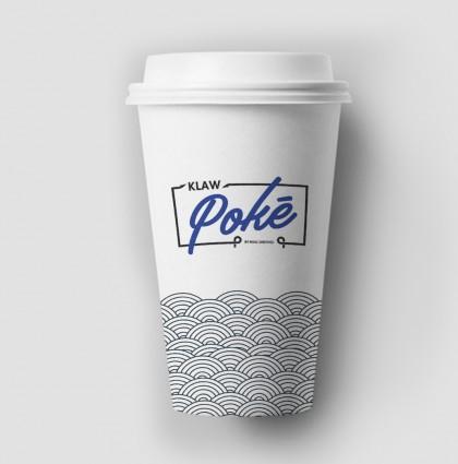 Klaw Poke takeaway cup