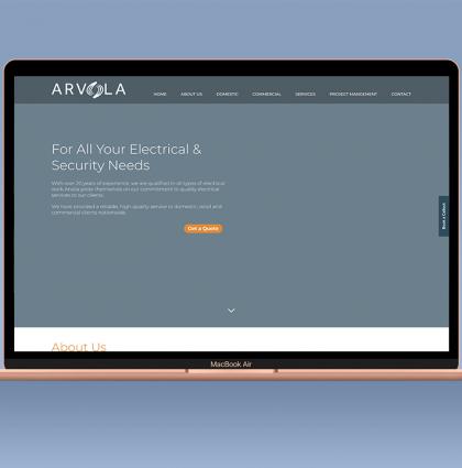Arvola Website