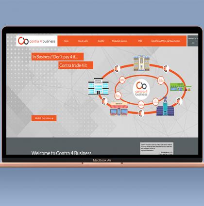 Contra 4 Business Website