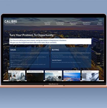 Calibri Consulting Website