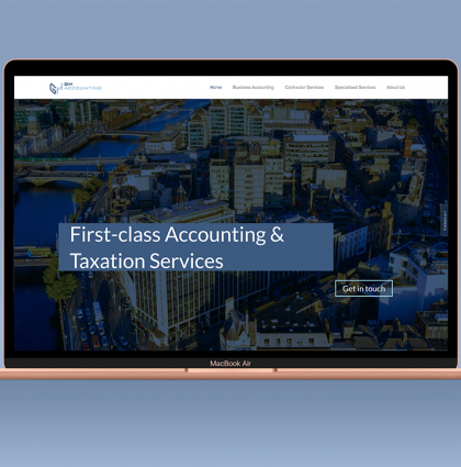 GH Accounting Website