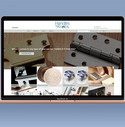 Handles & Knobs Website