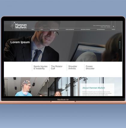 Hannan Mullet Shoulder Clinic Website